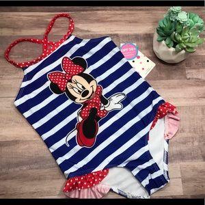 🆕NWT Disney Minnie Mouse one piece swim suit